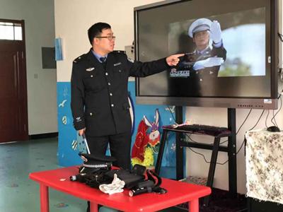神木市第一幼儿园开展家长助教活动